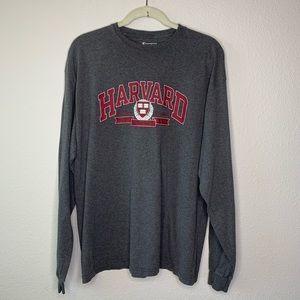 Champion Harvard Long Sleeve Shirt size XL